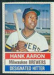 1976 Hostess #.94 Hank Aaron Baseball cards value