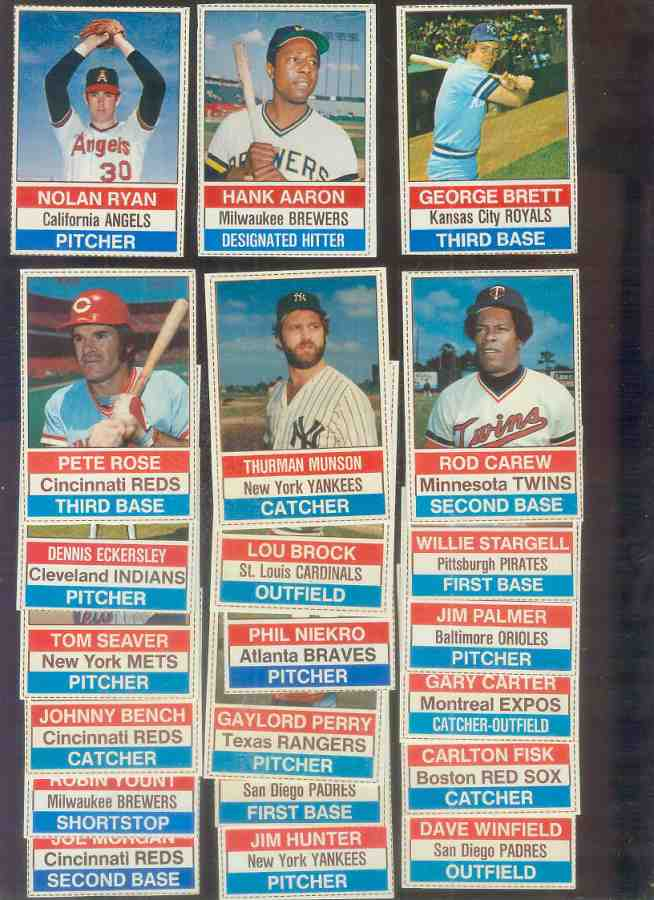1976 Hostess  - NEAR SET lot of (124/150, missing only 26 cards) Baseball cards value