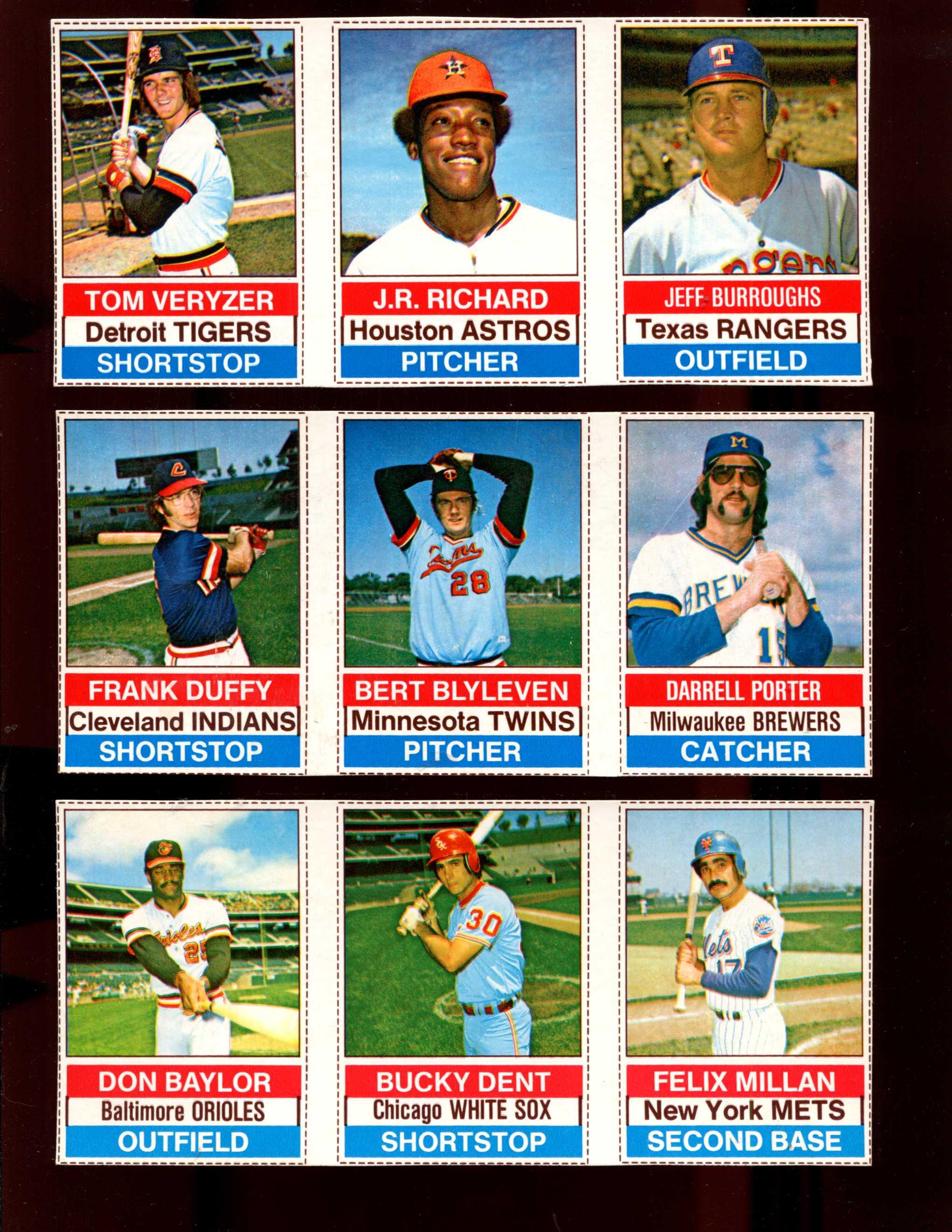 1976 Hostess Baseball Cards Set Checklist Prices Values