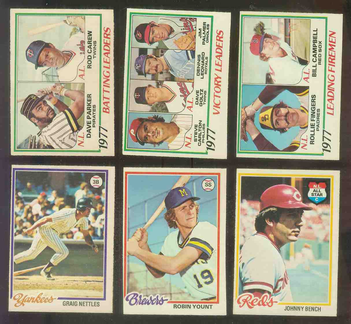 1978 O-Pee-Chee/OPC #..8 Firemen Leaders w/Rollie Fingers,Bill Campbell Baseball cards value