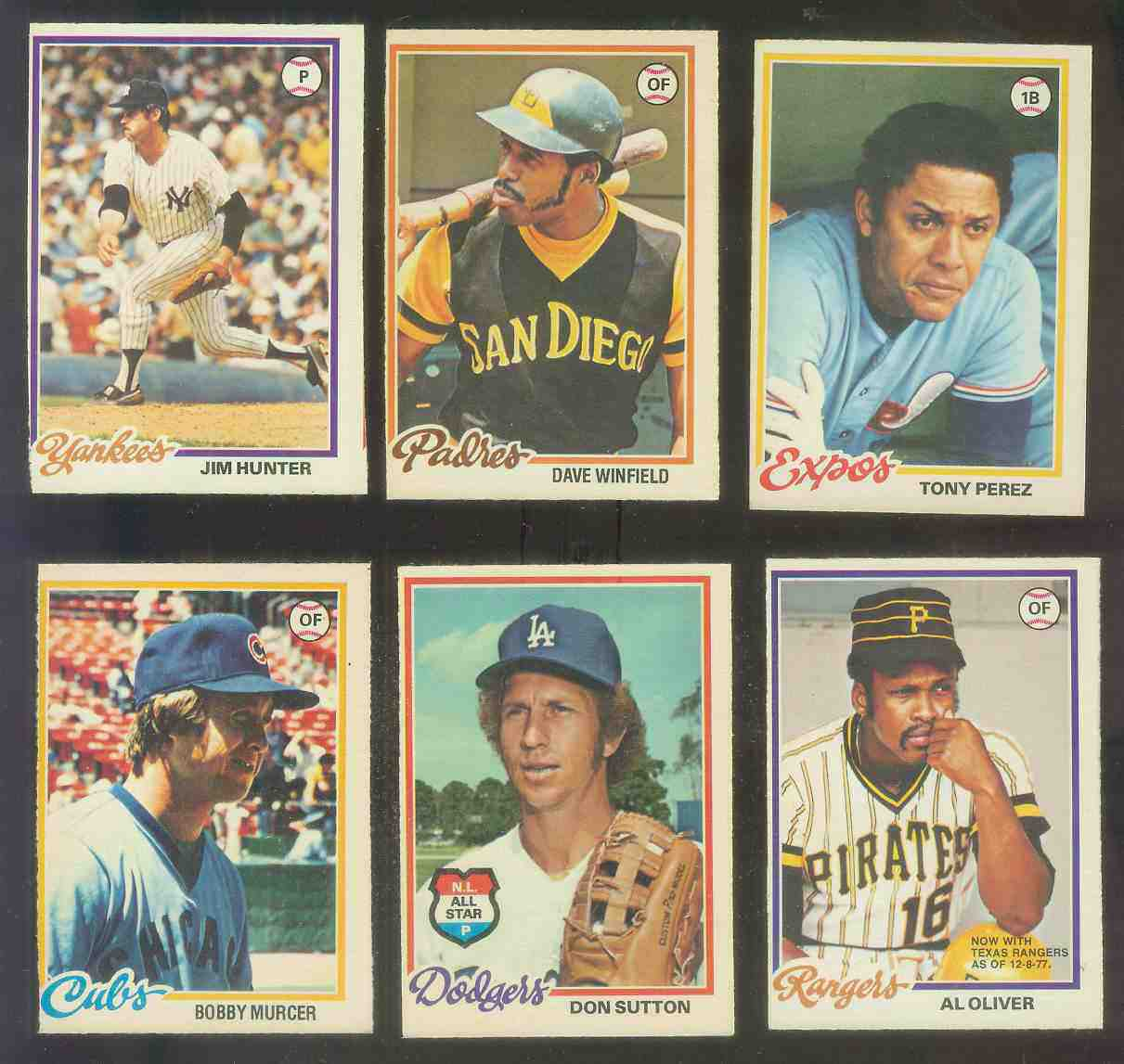 1978 O-Pee-Chee/OPC #.78 Dave Winfield Baseball cards value