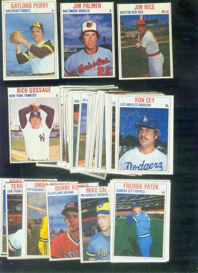 1979 Hostess  - Starter Set Lot of (52) Baseball cards value