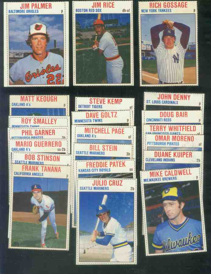 1979 Hostess  - Lot of (45) different Baseball cards value