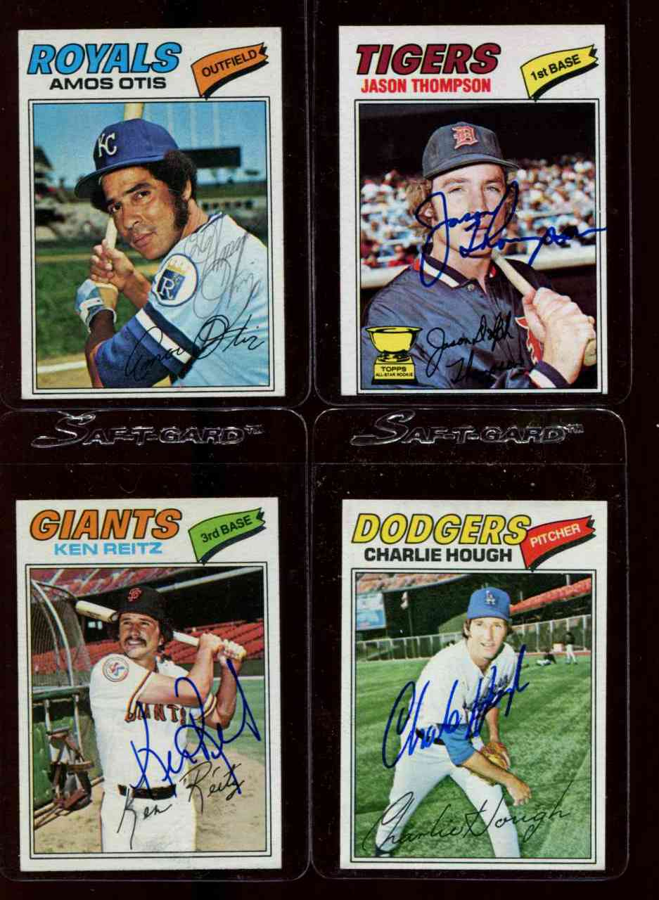 AUTOGRAPHED: 1977 Topps #297 Ken Reitz w/PSA/DNA Auction LOA (Giants) Baseball cards value