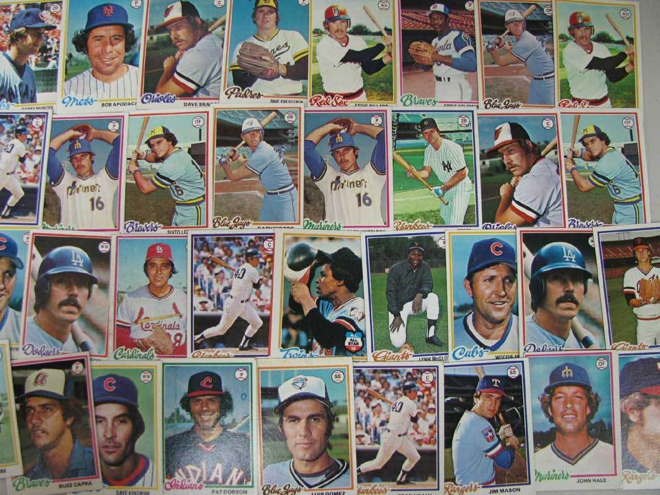 1978 Topps - Lot of (800+) assorted with STARS & HALL-OF-FAMERS !!! Baseball cards value