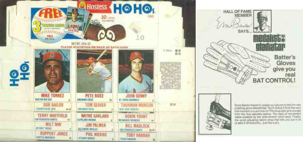 1978 Hostess 'HoHos' COMPLETE BOX #136-137-138 w/Robin Yount Baseball cards value