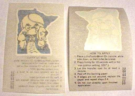 1970 Kellogg's Twins Team Logo Iron-On Transfer Baseball cards value