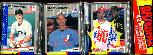 1989 Fleer Rack Pack - RANDY JOHNSON ROOKIE showing on TOP !