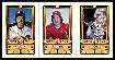 1983 Perma-Graphic 3-card PROOF SHEET - w/Pete Rose,Mike Schmidt...