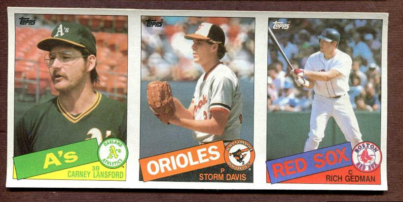 Baseball cards 1985 topps | psa cardfacts™.