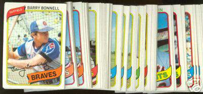 1980 Topps Bulk Lot - (950+) assorted with STARS & HALL-OF-FAMERS !!! Baseball cards value