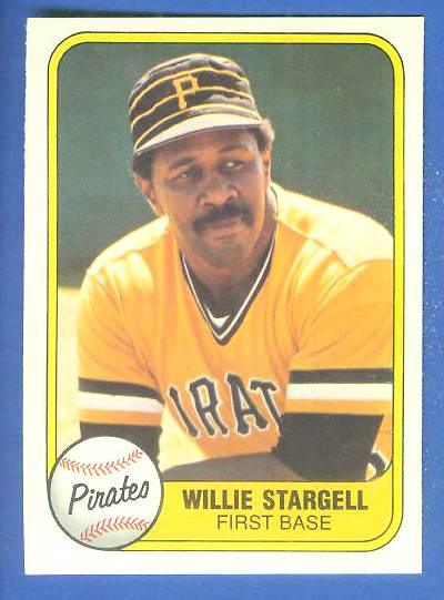 1981 Fleer #363 Willie Stargell (Pirates) Baseball cards value