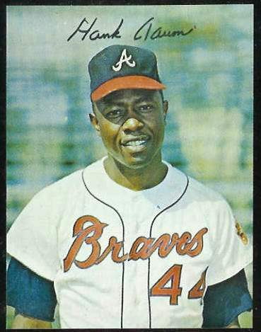 1981 Star Liner Decal - Hank Aaron (Braves) Baseball cards value