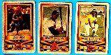 1982 Perma-Graphic All-Stars GOLD - Partial Set lot (11) w/HALL-OF-FAMERS