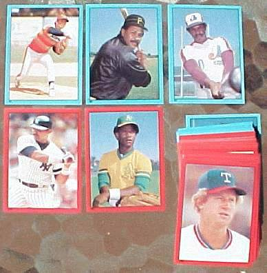 1982 Topps Stickers - COMPLETE SET (260 Stickers) Baseball cards value