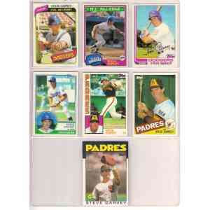 1980-1987 Topps cards - (3,000) card lot is assorted with dups. Baseball cards value
