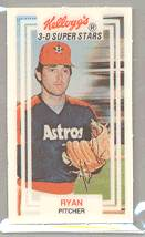 1983 Kellogg's #31 Nolan Ryan Baseball cards value