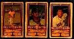 1983 Perma-Graphic GOLD  - Partial Set lot of (15) with HALL-OF-FAMERS