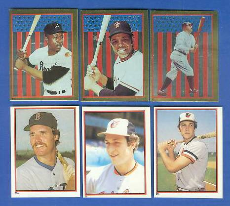 1983 Topps Stickers  - Lot of (6) HALL-OF-FAMERS & SUPERSTARS !!! Baseball cards value