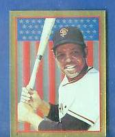 1983 Topps Stickers #..3 WILLIE MAYS GOLD FOIL - Lot of (10) (Giants) Baseball cards value