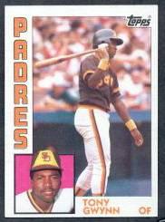 1984 Topps TIFFANY #251 Tony Gwynn (2nd year card) (Padres) Baseball cards value