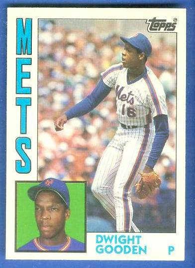 Dwight Gooden - 1984 Topps Traded #42T ROOKIE (Mets) Baseball cards value