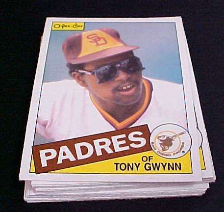 1985 O-Pee-Chee/OPC #383 Tony Gwynn (Padres) Baseball cards value