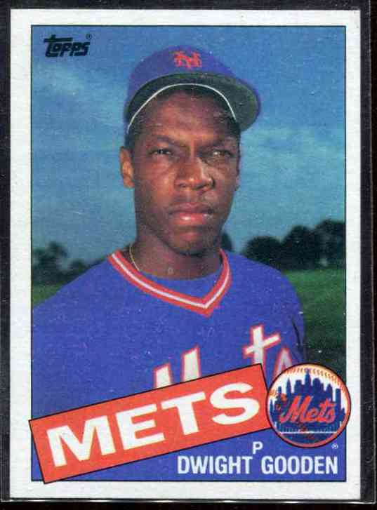 Dwight Gooden - 1985 Topps #620 ROOKIE *** BLANK-BACK PROOF *** (Mets) Baseball cards value