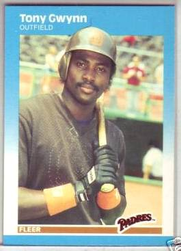 1987 Fleer #416 Tony Gwynn (Padres) Baseball cards value