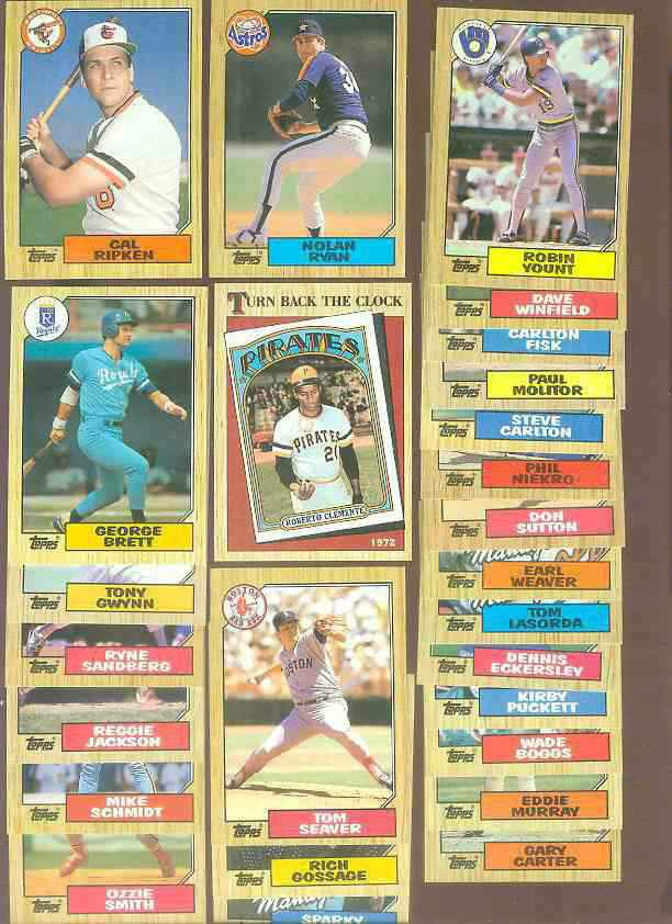 1987 Topps Bulk Lot of (2,500) assorted - No more than 4 of any card !!! Baseball cards value