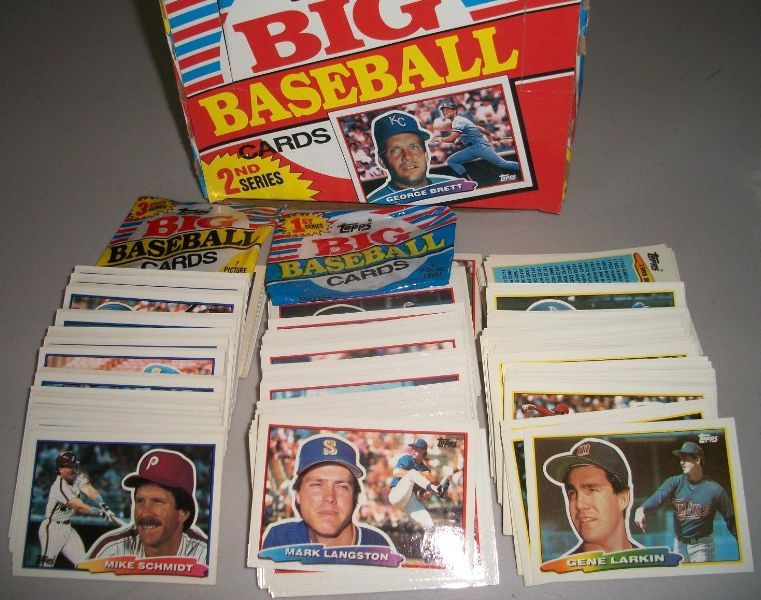 1988 Topps BIG - COMPLETE SET (264 cards) Baseball cards value