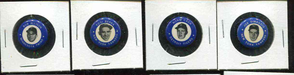 1983 '1969' MLBPA Pins #.4 Joe DiMaggio (Blue) Baseball cards value