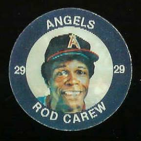 1984 Slurpee/7-11 #W.8 Rod Carew - Lot of (10) coins [K] (Angels) Baseball cards value