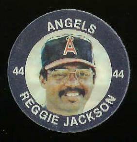 1984 Slurpee/7-11 #W12 Reggie Jackson - Lot of (10) coins [K] (Angels) Baseball cards value