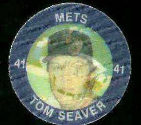 1984 Slurpee/7-11 #E.8 Tom Seaver - Lot of (10) coins [H] (Mets) Baseball cards value
