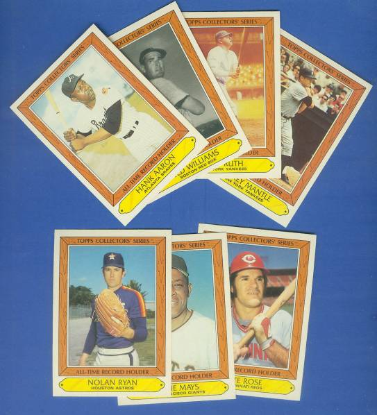 1985 Topps ALL-TIME RECORD HOLDERS - Complete BOXED FACTORY SET (44 cards) Baseball cards value