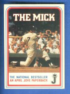 Mickey Mantle - 1986 Crown Books Baseball cards value