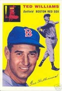 1954 Topps Archives (1994) #250 TED WILLIAMS (made by Upper Deck) Baseball cards value