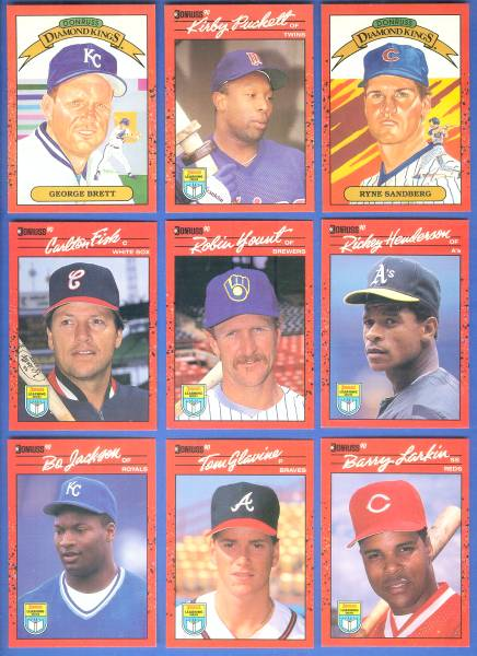 1990 Donruss 'LEARNING SERIES'  - COMPLETE SET of (55) cards Baseball cards value