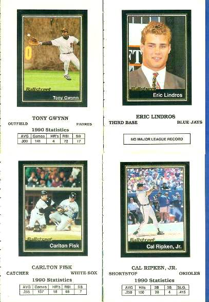 1991 Ballstreet #41 Eric Lindros Hockey cards value