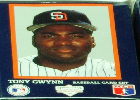 1992 Barry Colla Collection - TONY GWYNN LIMITED EDITION 12-card set Baseball cards value