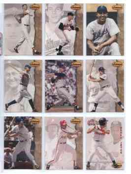 1994 Ted Williams Co. - NEAR COMPLETE SET (161/162) + FREE 1994 TW PROMO ! Baseball cards value