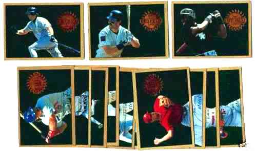 1995 Upper Deck 'STEAL of a DEAL' - Complete Insert set (15 cards) Baseball cards value