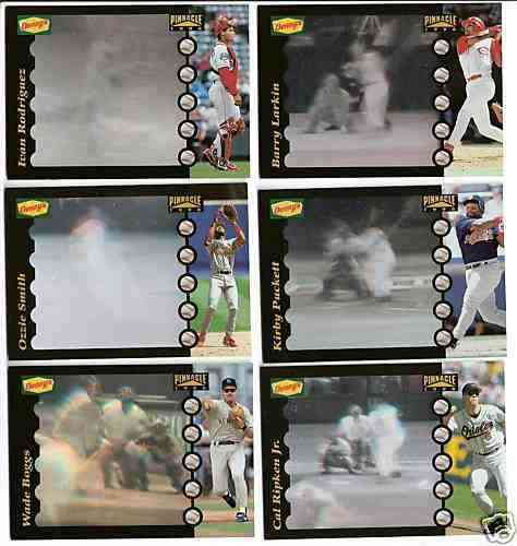 1996 Denny's HOLOGRAMS - COMPLETE SET (26 cards) Baseball cards value