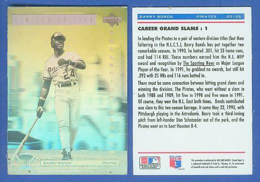 1992 1996 Dennys Holograms Baseball Cards Set Checklist
