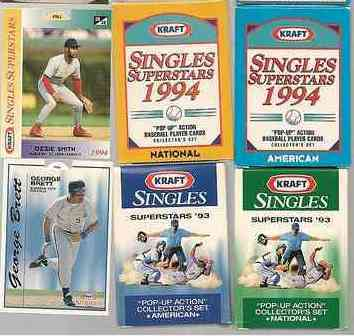 1993 Kraft Pop-Ups - Complete  (30) card set Baseball cards value