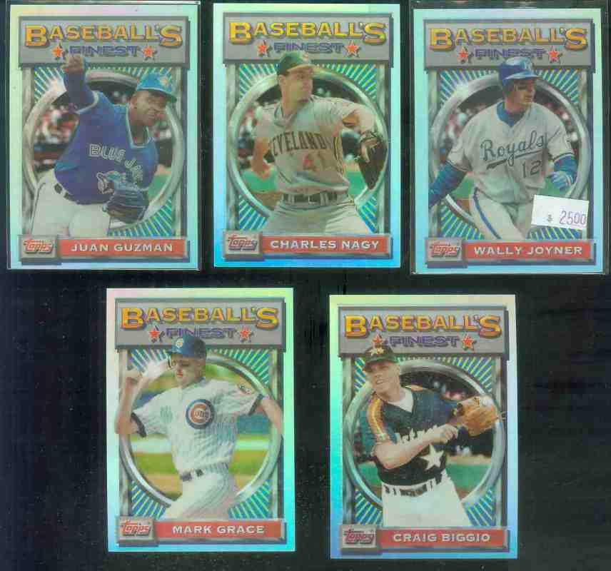 1993 Finest REFRACTOR #119 Craig Biggio Baseball cards value