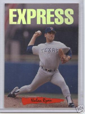Nolan Ryan 'Express' - 1993 Leaf Triple-Play 'NICKNAMES' (Rangers) Baseball cards value