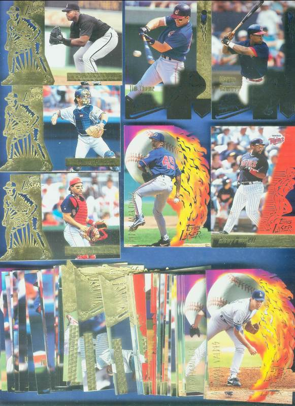 1996 Topps LASER  - Starter Set lot of (79) different with STARS !!! Baseball cards value