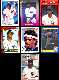 Deion Sanders - Lot of ( 7) 1990 ROOKIE cards - ALL DIFFERENT !!! (Yankees)